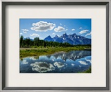 The Grand Tetons Framed Photographic Print by Trey Ratcliff