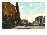 Market Square, Portsmouth, New Hampshire Poster