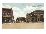 Tracy Avenue, Bozeman, Montana Poster
