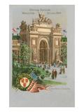 Souvenir of World's Fair, St. Louis, Missouri Posters
