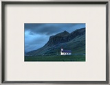 A Lonely Night in Iceland Framed Photographic Print by Trey Ratcliff