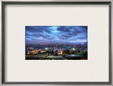 La Ville de Paris Gets Ready for Night Framed Photographic Print by Trey Ratcliff