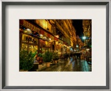 Bistrot de Lyon Framed Photographic Print by Trey Ratcliff