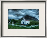 The Boiling Heavens Framed Photographic Print by Trey Ratcliff