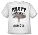 Youth: Party like its 2012 T-shirts