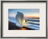 The Gate in Malibu Framed Photographic Print by Trey Ratcliff