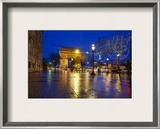 Le Arc de Triumph from the Champs-Élysées Framed Photographic Print by Trey Ratcliff