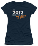 Juniors: To Live! T-Shirt