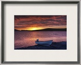 A Soft Evening on the Lake Framed Photographic Print by Trey Ratcliff