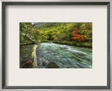 Riverfall Framed Photographic Print by Trey Ratcliff