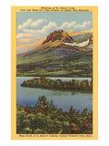 St. Mary's Lake, Glacier Park, Montana Prints