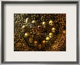 Heart of Skulls Framed Photographic Print by Trey Ratcliff