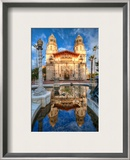 Hearst Castle in San Simeon Framed Photographic Print by Trey Ratcliff