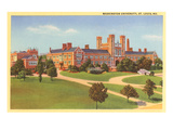 Washington University, St. Louis, Missouri Poster