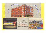 Hotel Powers, Fargo, North Dakota Prints