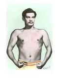 Sergio Llanes, Mexican Wrestler Print