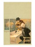 Scene from Tosca Prints