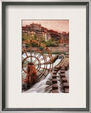The Grand Pool Framed Photographic Print by Trey Ratcliff