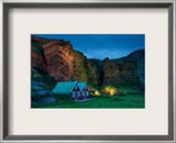 The Cavebirds in the Gentle Evening Framed Photographic Print by Trey Ratcliff