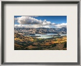 Driving to Akaroa Framed Photographic Print by Trey Ratcliff