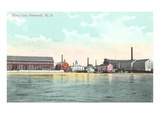 Navy Yard, Portsmouth, New Hampshire Posters