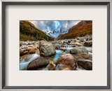 The River Runs Through the Andes Framed Photographic Print by Trey Ratcliff