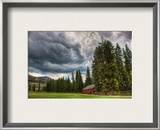The Storm Hitting the Barn Framed Photographic Print by Trey Ratcliff