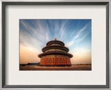 The Temple of Heaven Framed Photographic Print by Trey Ratcliff