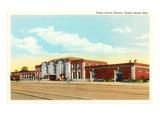 Train Station, Grand Island, Nebraska Poster