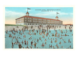 Seashore Hotel, Wrightsville Beach, Wilmington, North Carolina Prints
