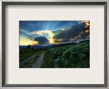The Dirt Road to the Nuclear Blast Site Framed Photographic Print by Trey Ratcliff