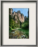 Fingers Above River Framed Photographic Print by Trey Ratcliff