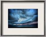 Oceanscream Framed Photographic Print by Trey Ratcliff