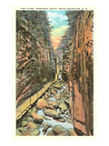 Flume, Franconia Notch, White Mountains, New Hampshire Prints