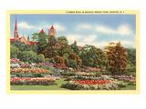 Flower Beds, Branch Brook Park, Newark, New Jersey Prints