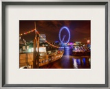 A Fun Night in London Framed Photographic Print by Trey Ratcliff