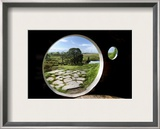 From Bilbo's Hobbit Hole Framed Photographic Print by Trey Ratcliff