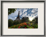Another Summer Day in Paris Framed Photographic Print by Trey Ratcliff