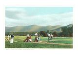 Golf at Bretton Woods, White Mountains, New Hampshire Prints
