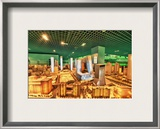 On Golden Borg Framed Photographic Print by Trey Ratcliff