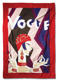 Vogue Beach Towel Towel by Eduardo Garcia Benito