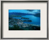 Queenstown From Above Framed Photographic Print by Trey Ratcliff