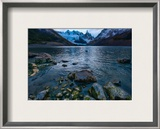 An Icy Cold Evening Framed Photographic Print by Trey Ratcliff