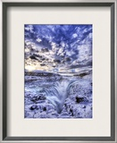 The Icy Pit to Hell Framed Photographic Print by Trey Ratcliff