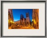 A Dusk Walk in Montpellier Framed Photographic Print by Trey Ratcliff