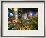 The Intersection Framed Photographic Print by Trey Ratcliff