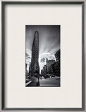 The Edges of the Flatiron Framed Photographic Print by Trey Ratcliff