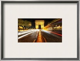 Arc de Triomphe Framed Photographic Print by Trey Ratcliff