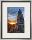 The Icelandic Phallus Framed Photographic Print by Trey Ratcliff