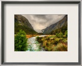 River to the Maelstrom Framed Photographic Print by Trey Ratcliff